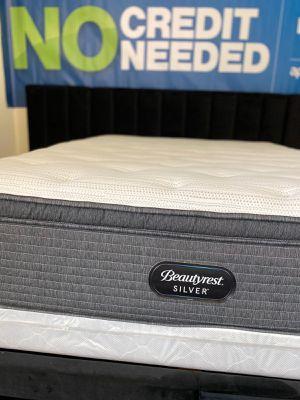 Photo Brand new Queen size Mattress Beautyrest Silver Pillow-Top Hybrid Bed