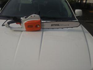 Brand new Stihl Electric chainsaw for Sale in Stockton, CA