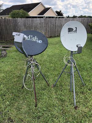 DIRECTV and dish network satellite dish for Sale in Orlando, FL
