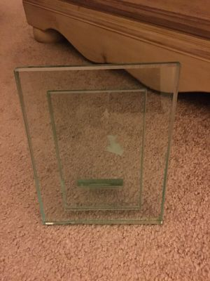 Glass picture frame for Sale in Midlothian, VA