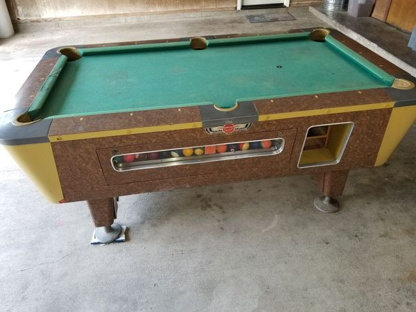 Ft Vintage Valley Pool Table For Sale In Cleburne TX OfferUp - Valley pool table coin mechanism