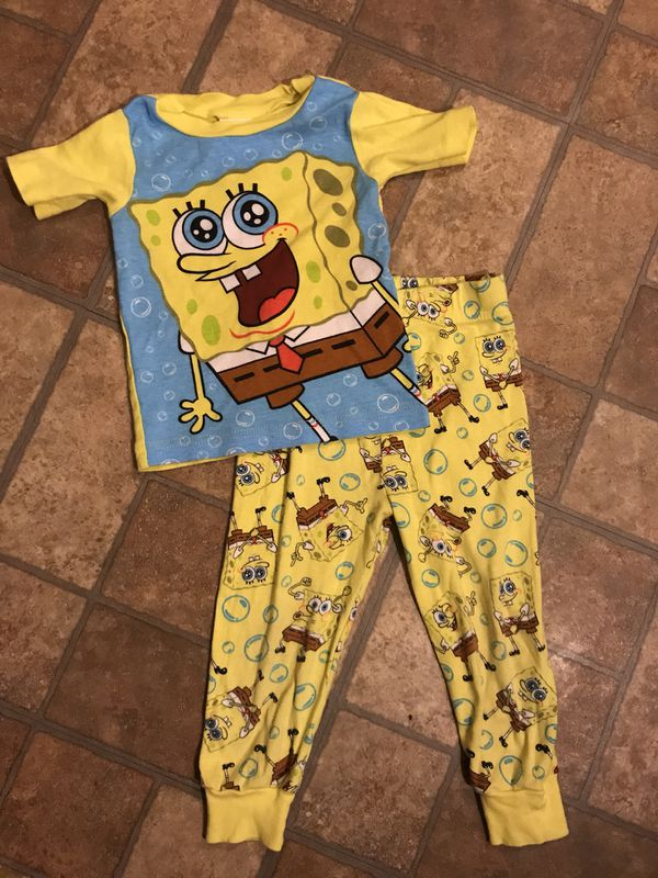 bb18ad7fc1 Spongebob pjs set for toddler for Sale in San Diego