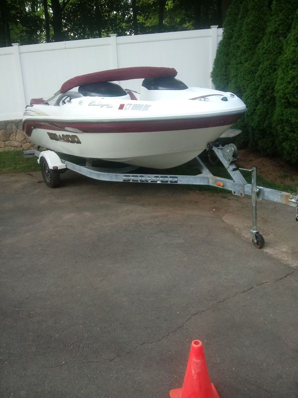 Boat. 2002 seedoo challenger 1800. 240hp mercury