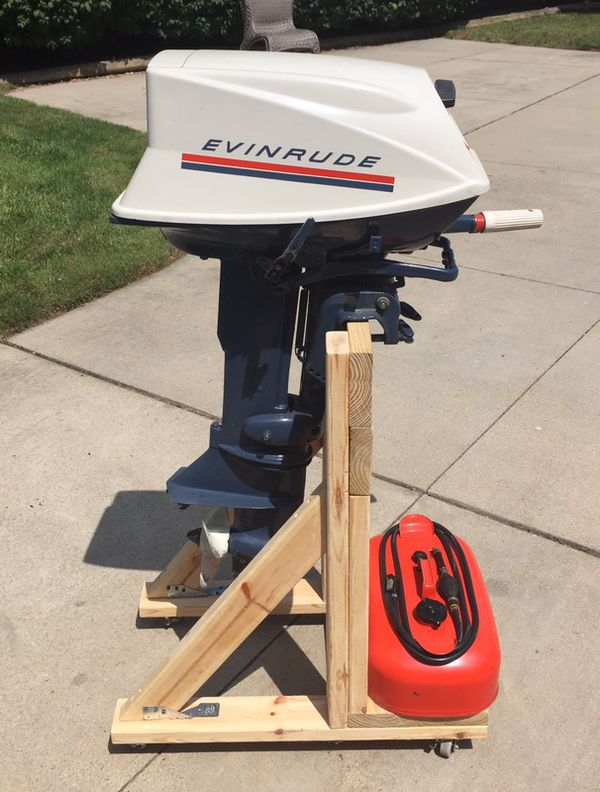 1969 evinrude 18 hp fastwin outboard motor for sale in new for Outboard motors for sale in michigan