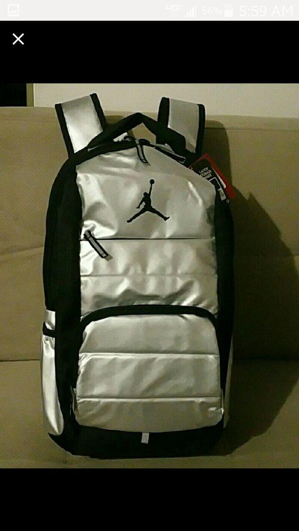 3c52e0b721 Nike Air Jordan Backpack Laptop Storage Inside