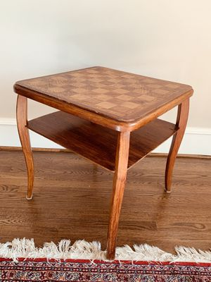 Antique wooden game table for Sale in Alexandria, VA
