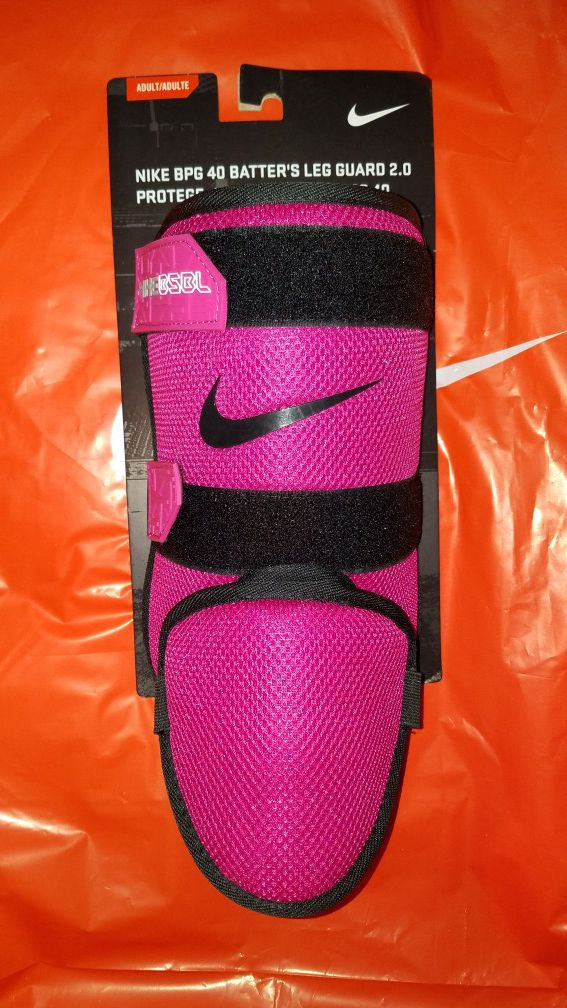 21cecf51e493a NIKE BPG 40 BATTER'S LEG GUARD 2.0 BASEBALL SOFTBALL PINK/BLACK for Sale in  Moorpark, CA - OfferUp