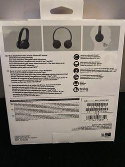Sony WH-CH500 Wireless On Ear Headphones Thumbnail