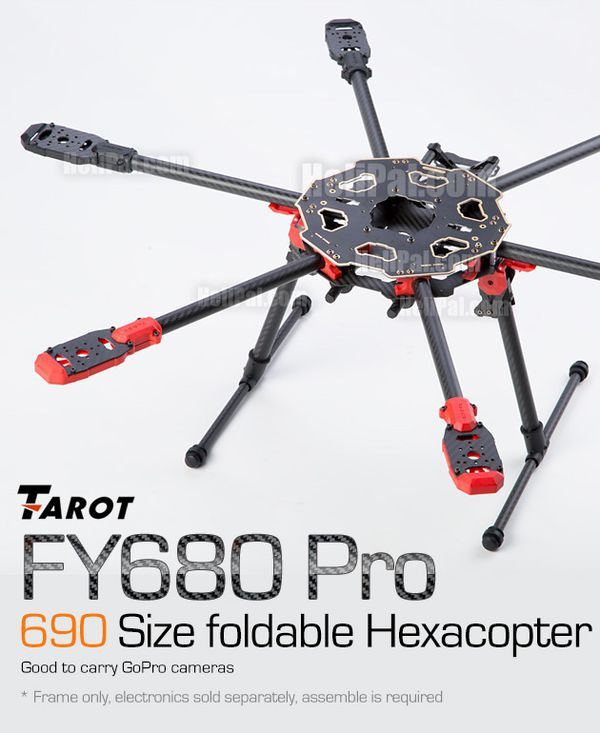 Tarot 680pro hexacopter drone frame for Sale in Milton, WA - OfferUp