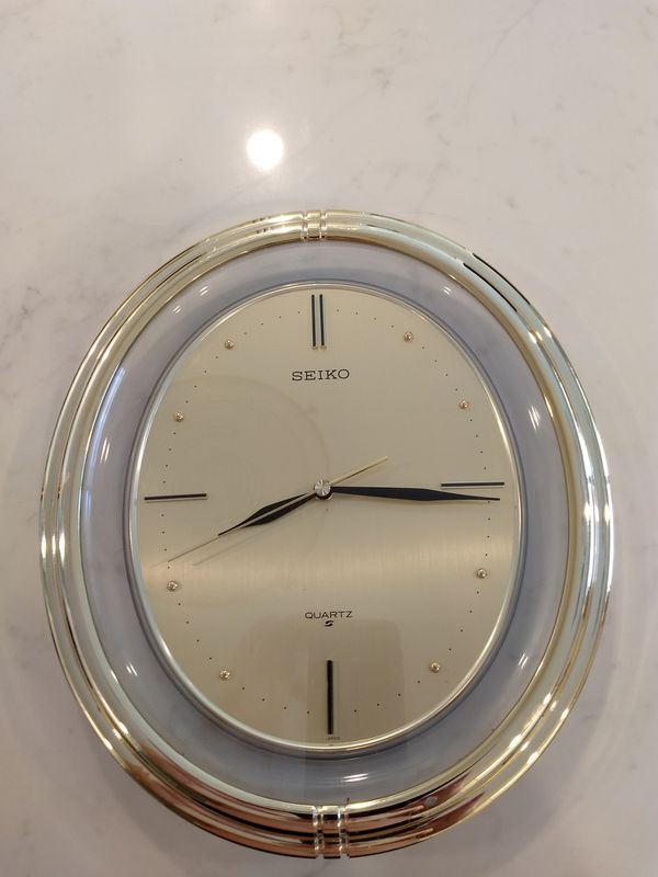 Seiko Wall Clock Household In Phoenix Az Offerup