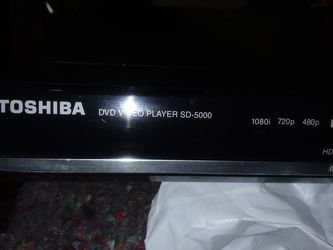 TOSHIBA.DVD.VIDEO PLAYER Thumbnail