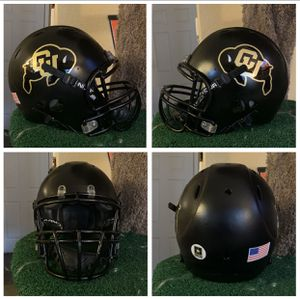 Photo Colorado Buffaloes Replica Helmet, Blacked Out