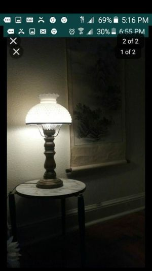 Antique lamp and table for Sale in Washington, DC