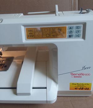 Bernina Benette Deco 600 Computizer Sewing Machine for Sale in Silver Spring, MD