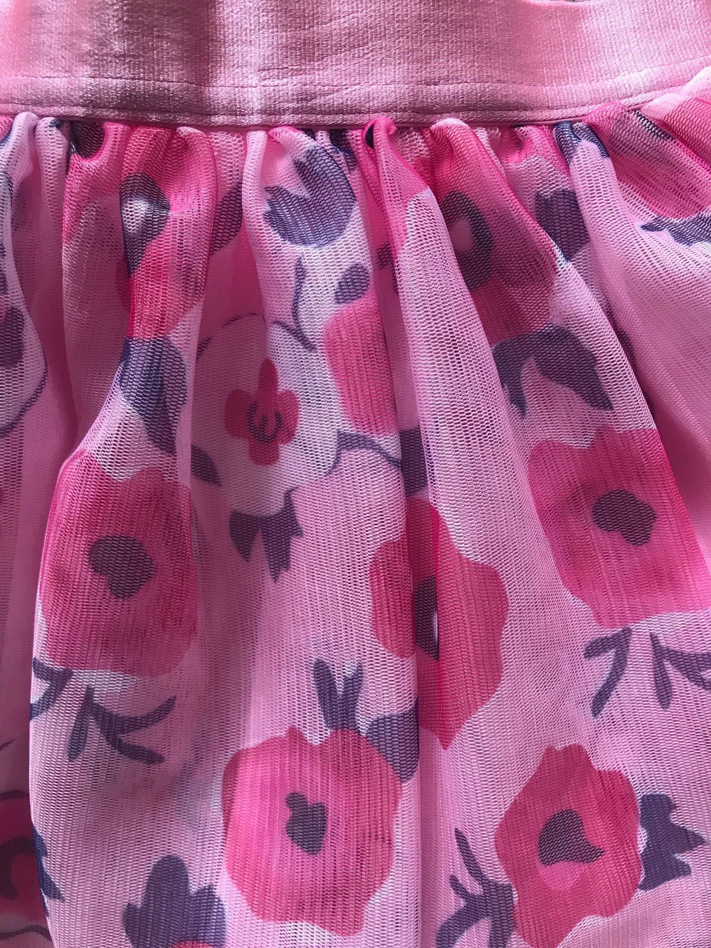 Calvin Klein Floral Skirt Size 4T