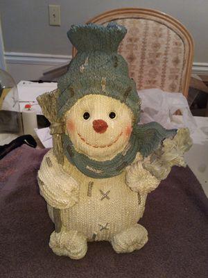Snow man decor for Sale in Johns Creek, GA