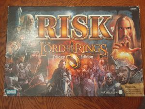 Photo Lord of the Ring Risk Trilogy Edition