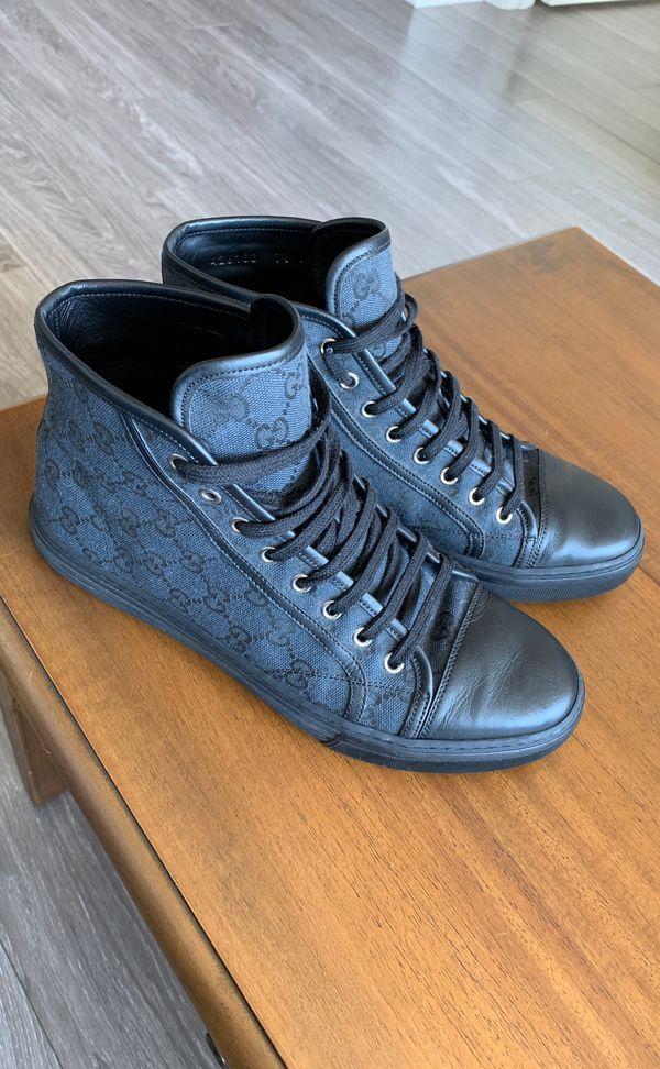 0101aeb6099cb2 Gucci Men s Original GG Canvas High-top Sneakers for Sale in Chicago ...