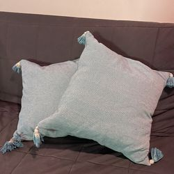 throw pillows teal Thumbnail