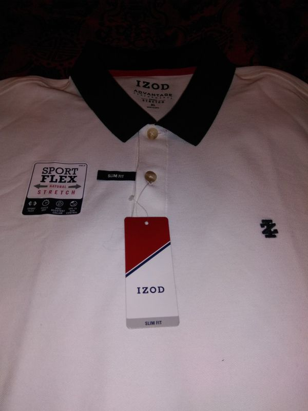 7e1d1ffc Brand new Izod three button polo shirt with tag that says $50 size xl for  ...
