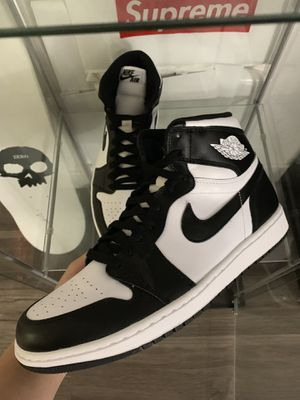 f061fc9783e1 Air Jordan 1 black white size 10 brand new for Sale in Anaheim