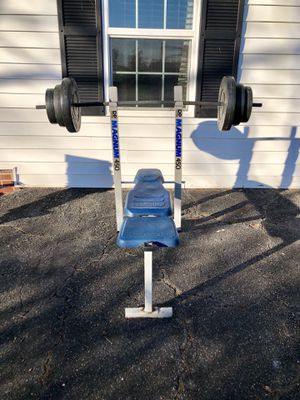 Dp Magnum 450 Bench With Weights For Sale In Linwood Nc Offerup