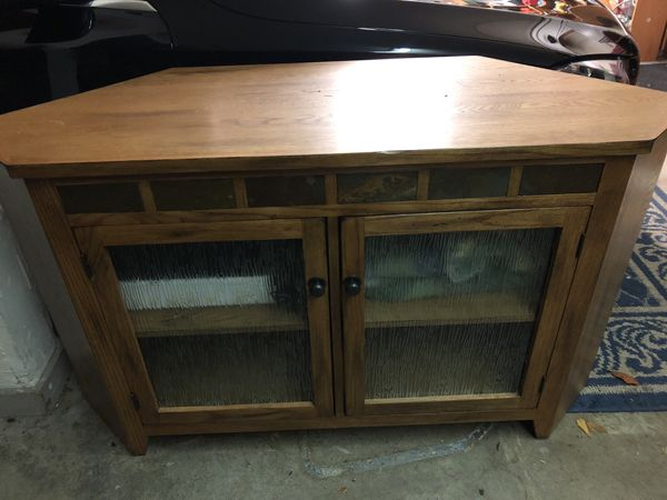 Decorative Media Cabinet