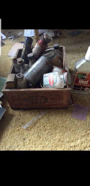 Bottles of old medicine and cure all's... very old some not ever opened. Make offer for Sale in Eagle Creek, OR