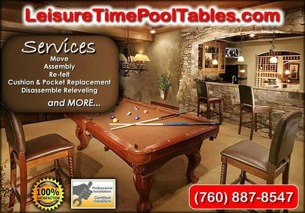 We Are Professional Pool Table Installers Give Us A Call For A Free - Professional pool table installers