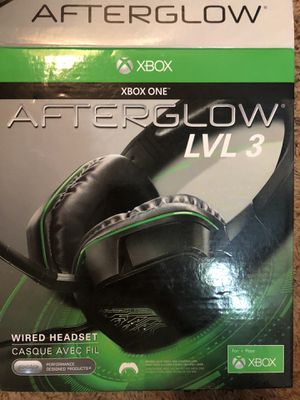 Afterglow Lvl 3 headset for Sale in Coralville, IA - OfferUp