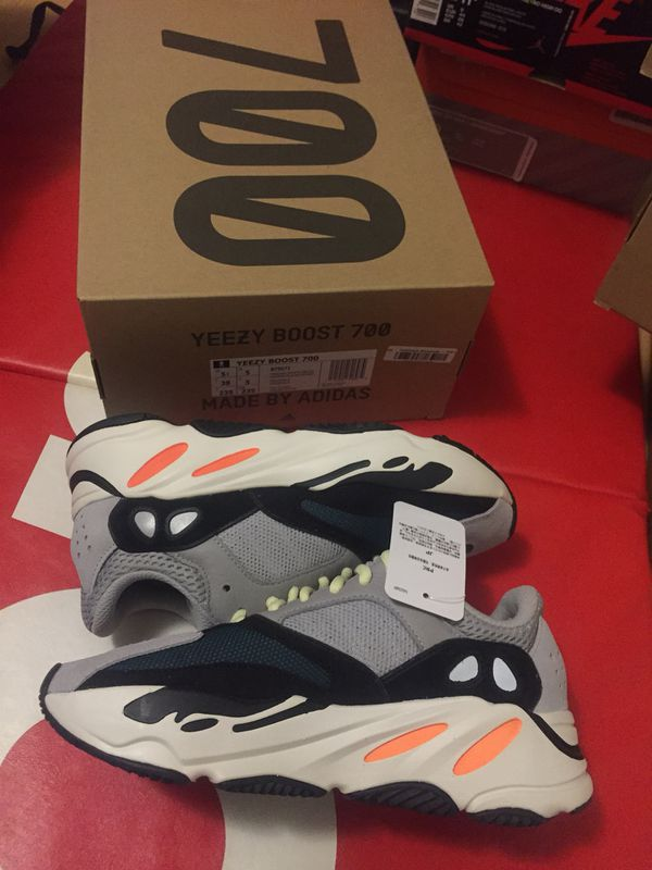 318f1b8c883 Adidas Yeezy Boost 700 Waverunner Solid Grey 5.5 DS Brand New with ...