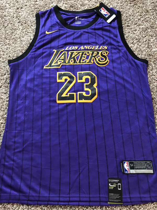 size 40 0c8b0 052c2 2019 LeBron James LA Lakers city purple NBA jersey. Brand new . Size XXL  for Sale in Garden Grove, CA - OfferUp