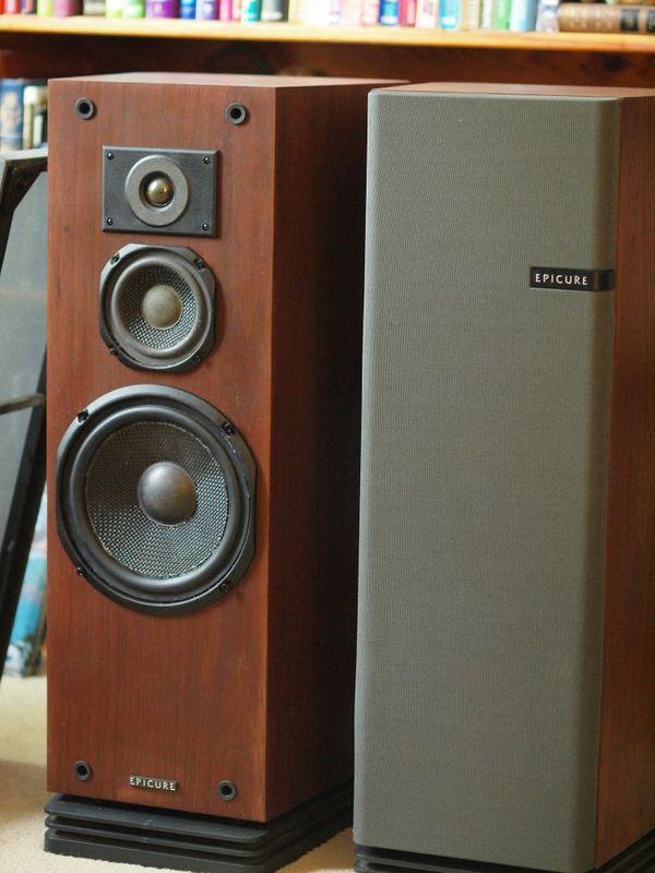 Vintage Audiophile EPI Epicure 3 Speakers for Sale in Plainfield, IL -  OfferUp