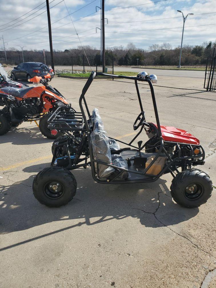 Jeep style gokart 125cc