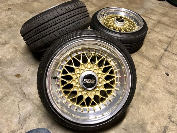3pc BBS Rs Wheels 5x100 / 4x100 for Sale in Concord, CA - OfferUp