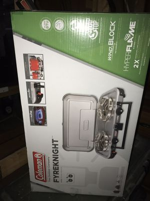 FryeKnight Coleman stove for Sale in Ijamsville, MD