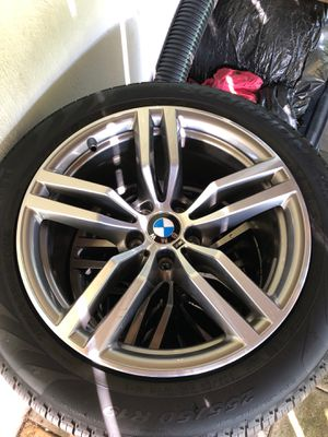 New New BMW OEM 19' Wheels and Run Flat Tires for Sale in McLean, VA