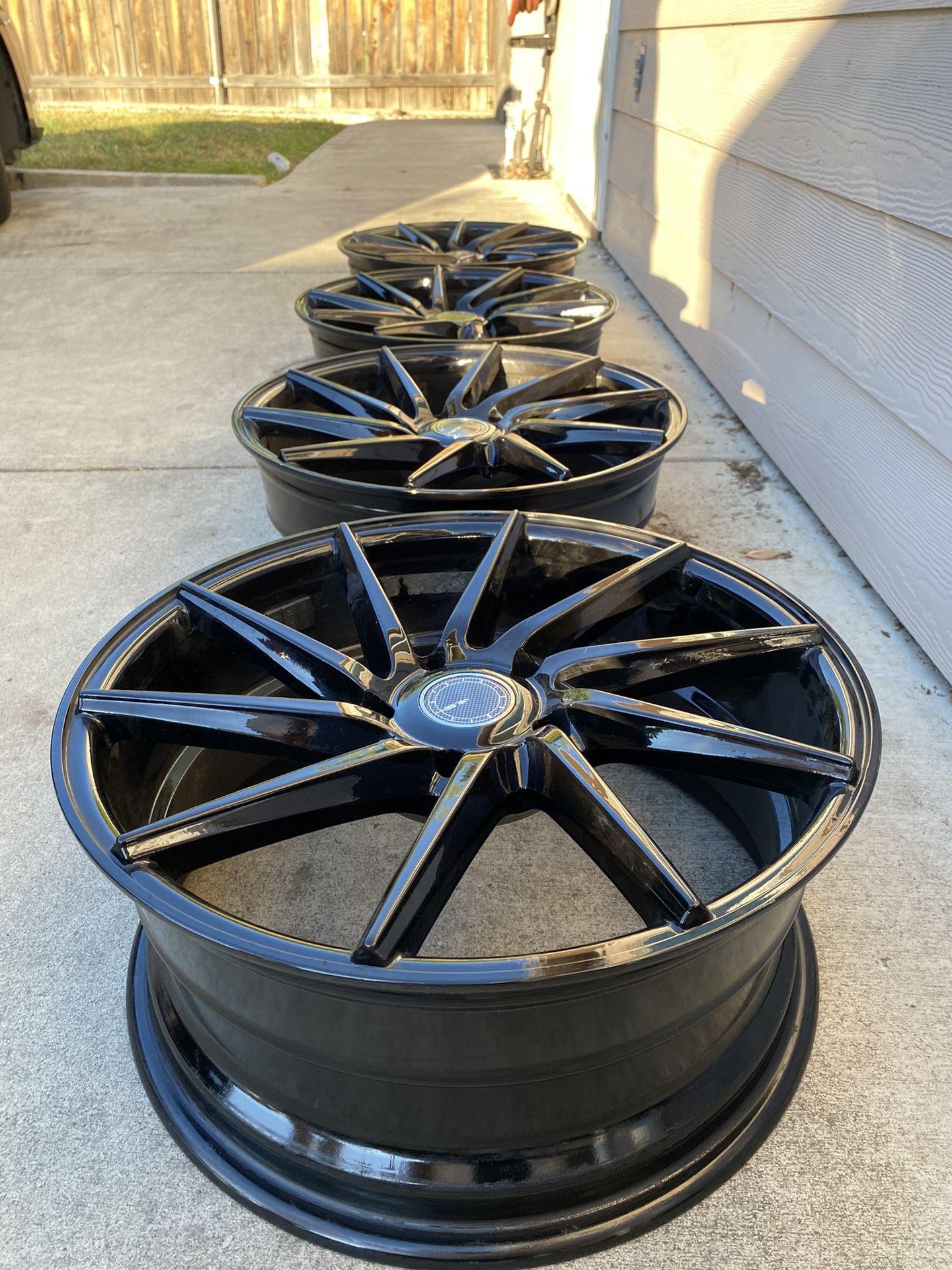 17 Inch Black Rims