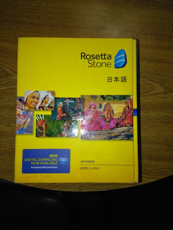 ROSETTA STONE JAPANESE BRAND NEW cost $399 99 ONLY ASKING $100 for Sale in  Henderson, NV - OfferUp