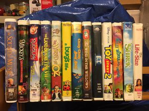 VHS movie assortment for Sale in Haymarket, VA