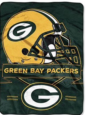 Green Bay Packers Plush Throw Blanket, Twin Size, Measures 60 inches by 80 inches for Sale in Henderson, NV