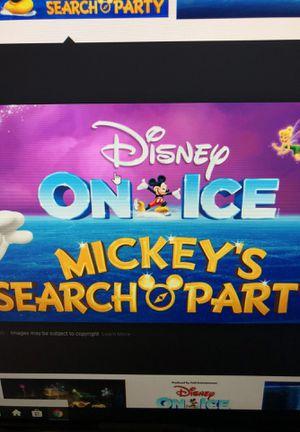 Disney on ice October 6 Saturday at 2:30 for Sale in Manassas, VA