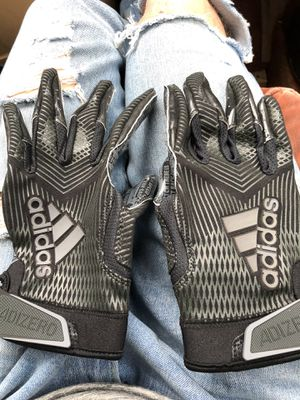 Photo Adidas adizero large WR football gloves