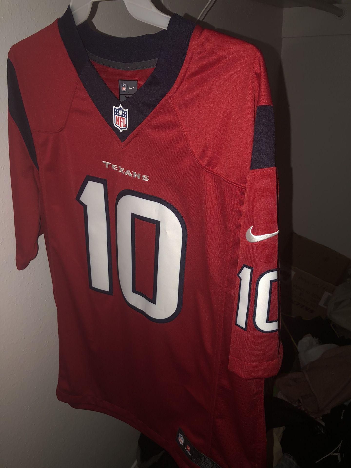 Texans jersey XL