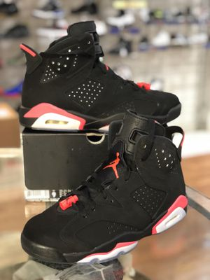 Black infrared 6s size 9 for Sale in Silver Spring, MD