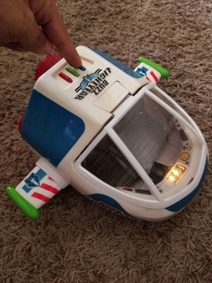 Disney's toy story buzz lightyear collectible spaceship with sound for Sale in Mesa, AZ