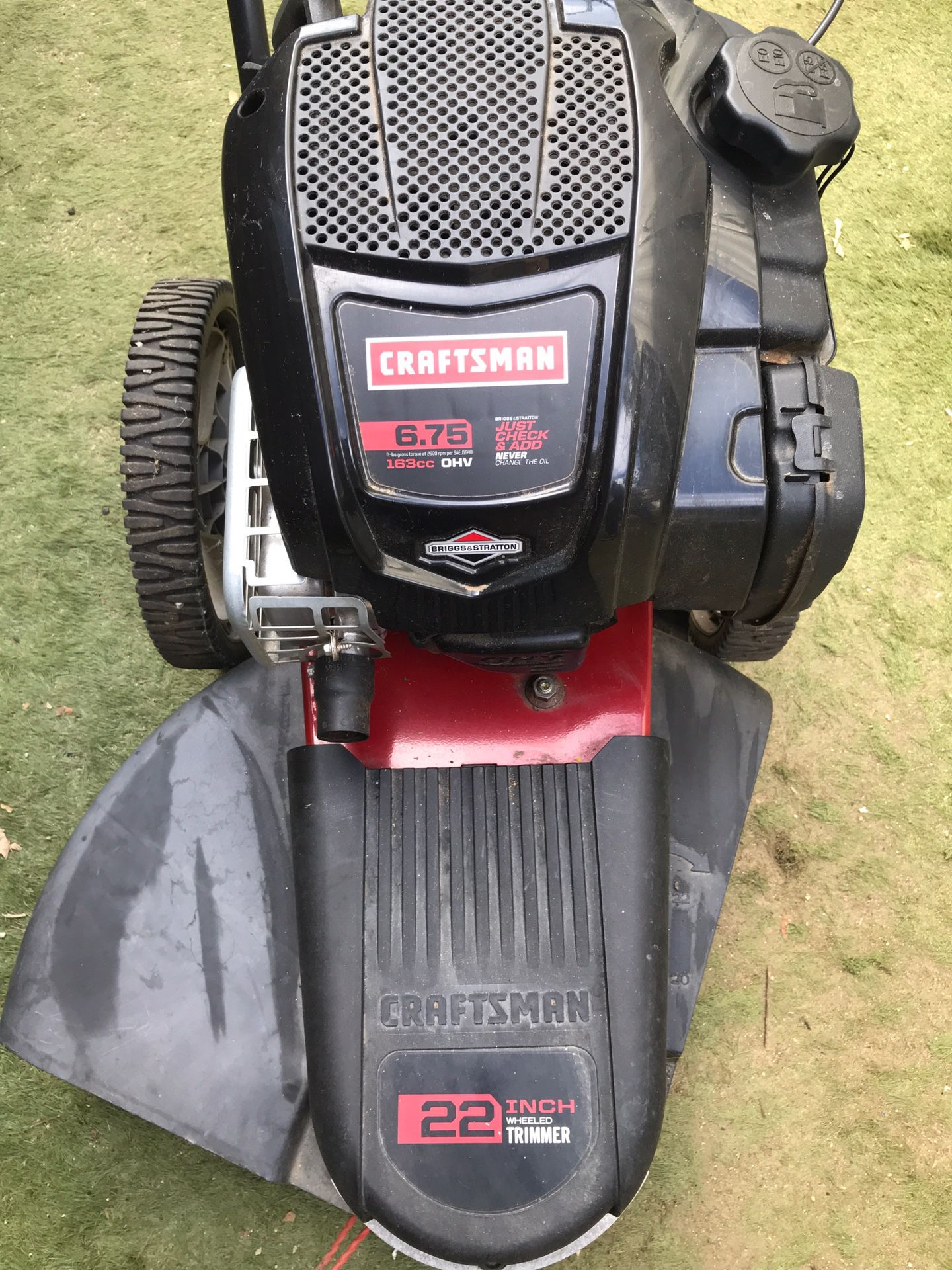 Craftsman 4- Cycle High Wheel Gas Trimmer