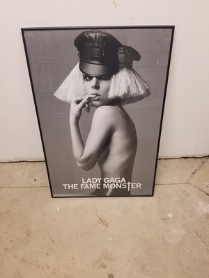 Lady gaga pic and frame for Sale in Columbus, OH