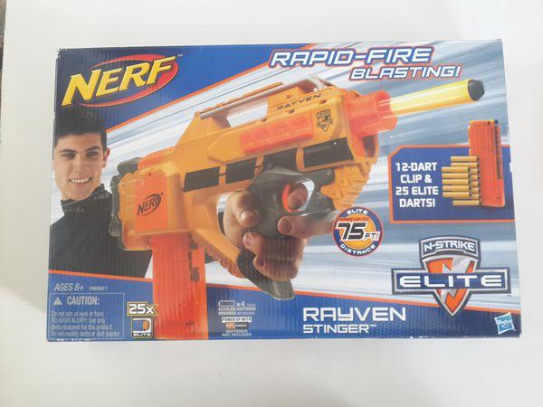 nerf n strike elite rayven cs 12 stinger for sale in st louis mo