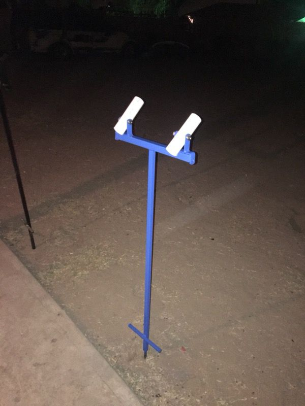 Fishing pole stand 🎣 $30 any color